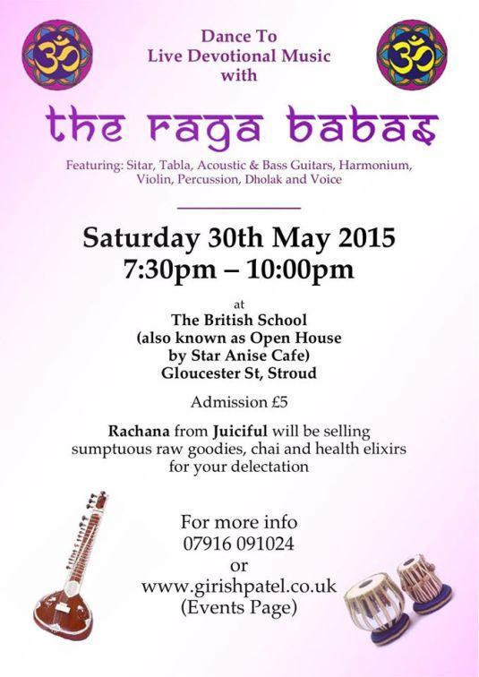 may gig flyer