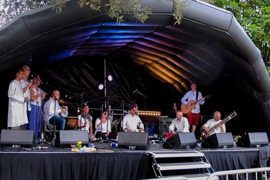 Raga Babas at Stroud Fringe 2015