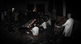 Raga Babas live in the Trinity Rooms, Stroud